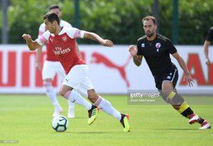 Arsenal yaichapa Crawley town kwa magoli 9-0